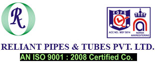 Reliant Pipes & Tubes mfg & supplier of Steel Pipes & Tubes