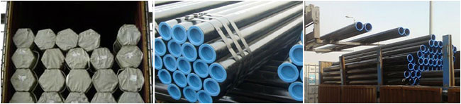 A53 Gr.A or B seamless pipe packaging