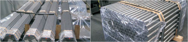 Nickel Alloy Pipe and Tubes packaging
